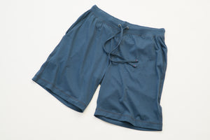 100% Peruvian Pima Cotton Denim Blue Short