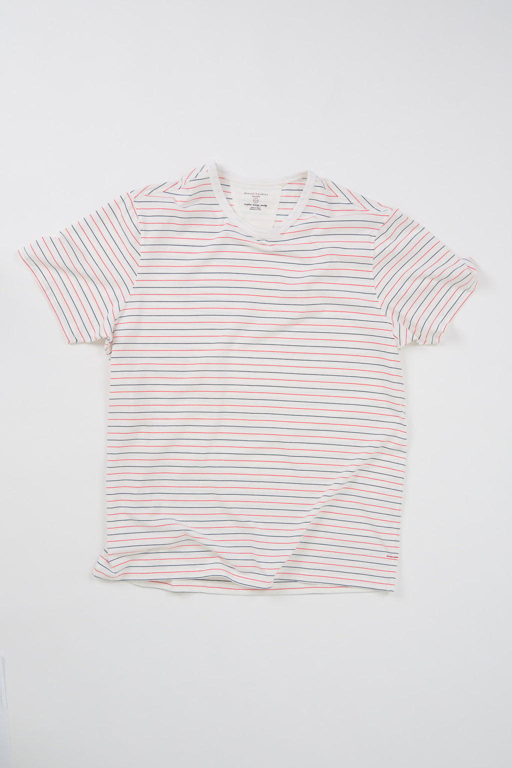 Striped Cotton/Modal T-Shirt