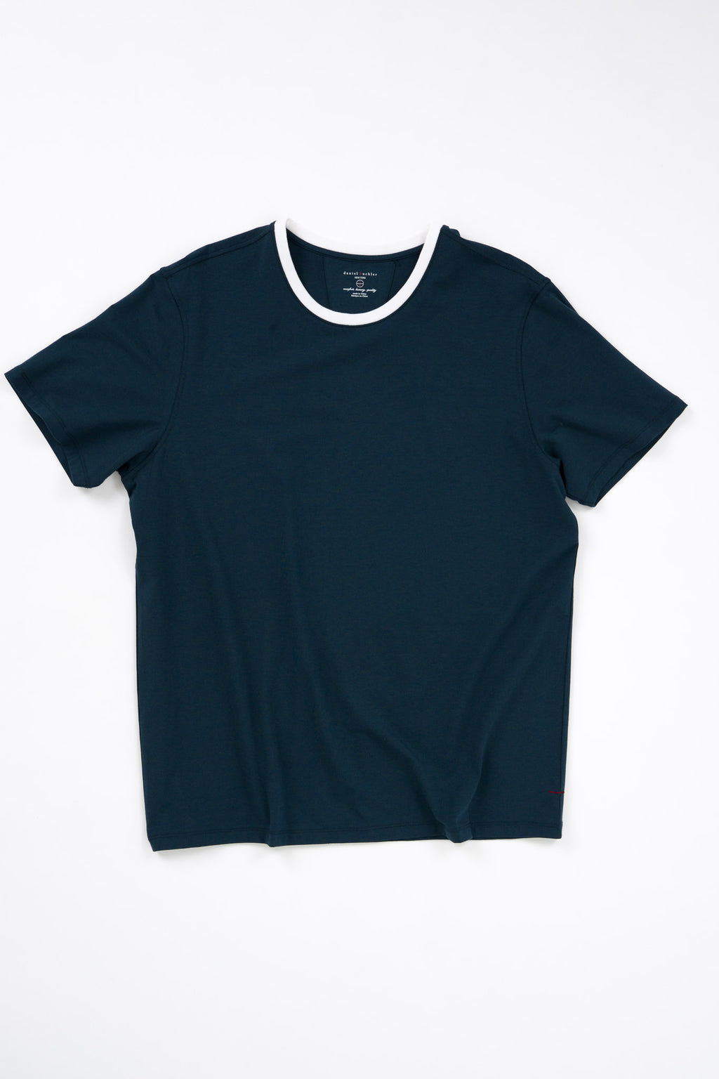 Cotton/Modal Solid Crewneck