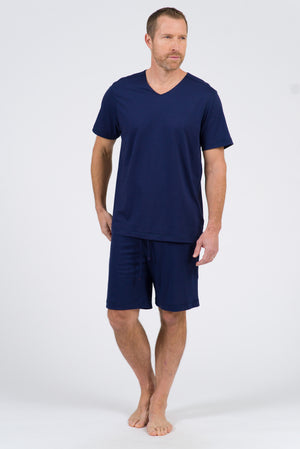 100% Peruvian Pima Cotton Short - Navy