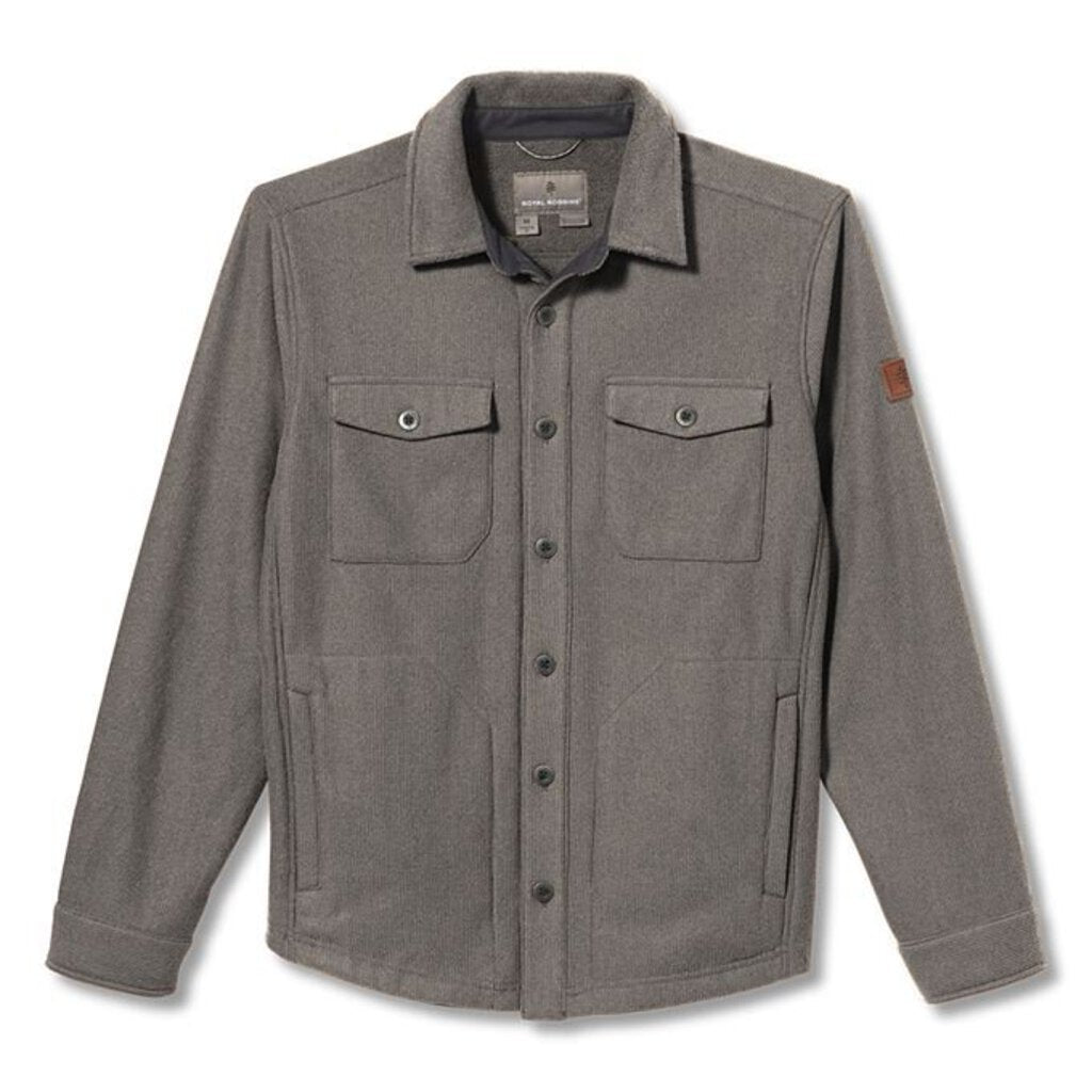 Connection Grid Shirt Jacket