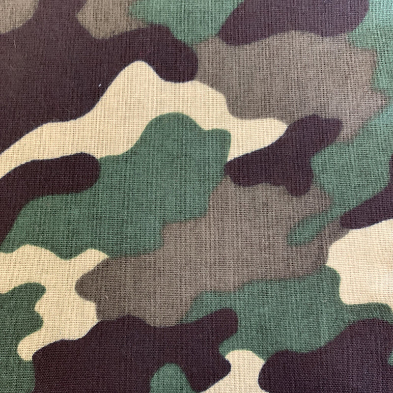 Foster Outdoor Camo Green Bandana.