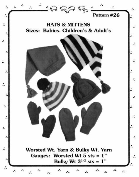Hats & Mittens Pattern