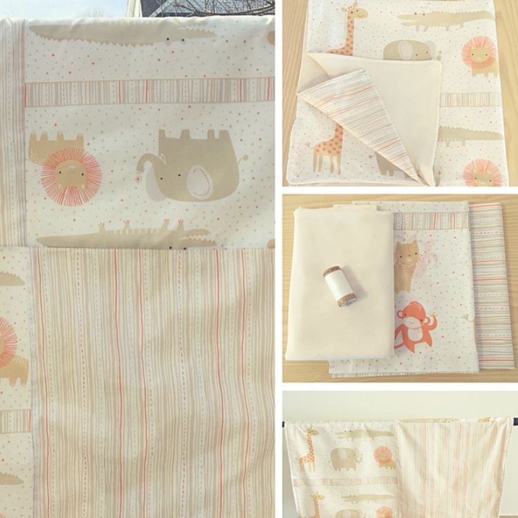 Baby Blanket Sewing Kit