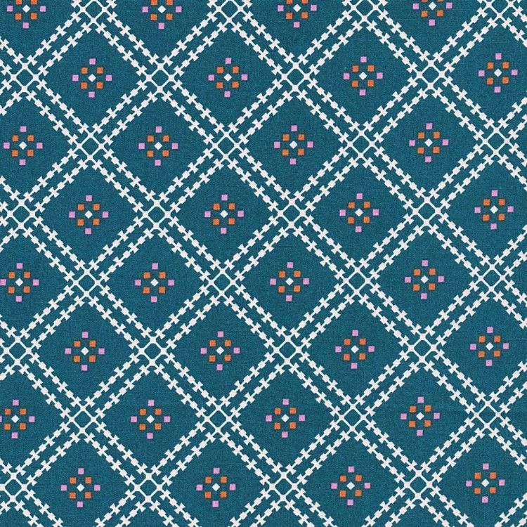 "Quilter's Cotton-44""-Jenny's Plaid, Spruce"