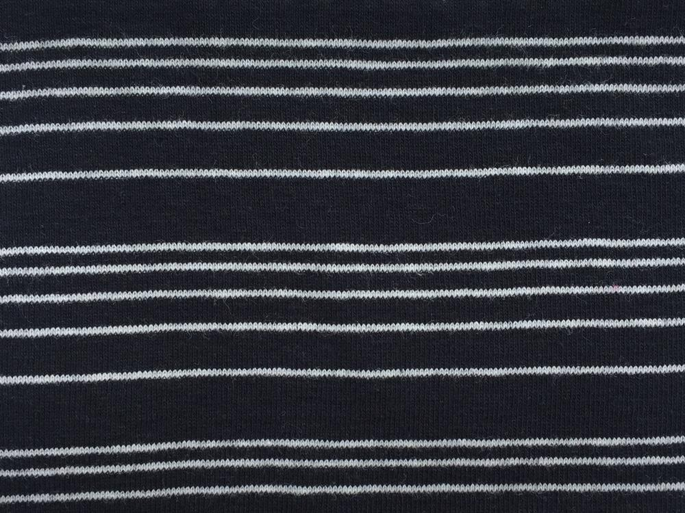 Baby Rib-Pencil Stripes 55""