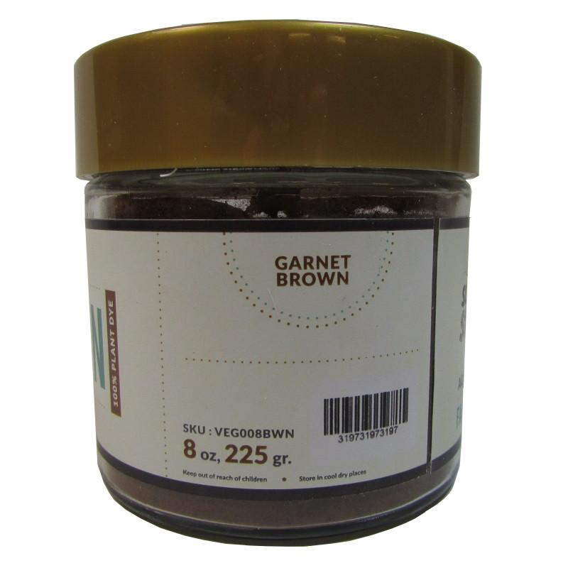 Vegetable Dye-Garnet Brown