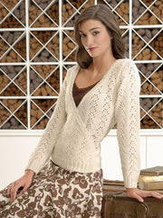 Lacy Wrap Sweater Pattern
