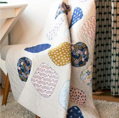 Free Quilt Pattern - Sea Glass Quilt
