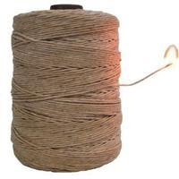 Hemp Twine-Waxed - 1mm-Natural