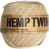 Hemp Twine-1mm-Natural