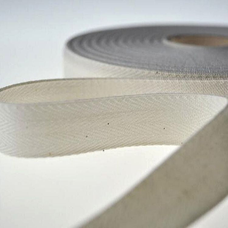 Over Kleshas Cotton Twill Tape 10YD//Pack Natural, 2