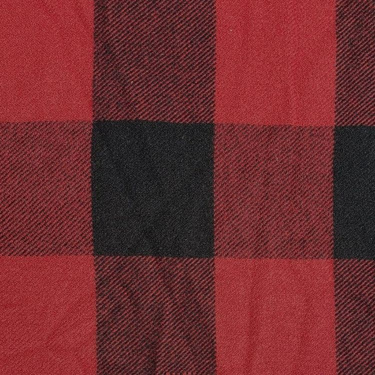 "Wool -54""- Red Large Check"