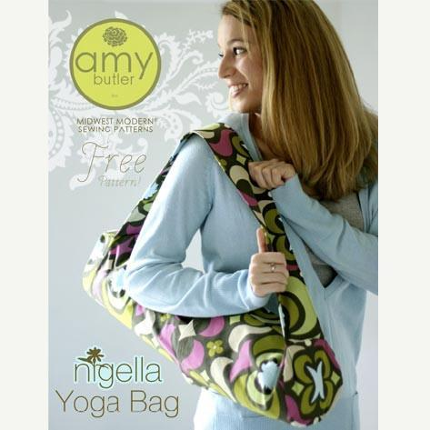 Free Pattern-Nigella Yoga Bag