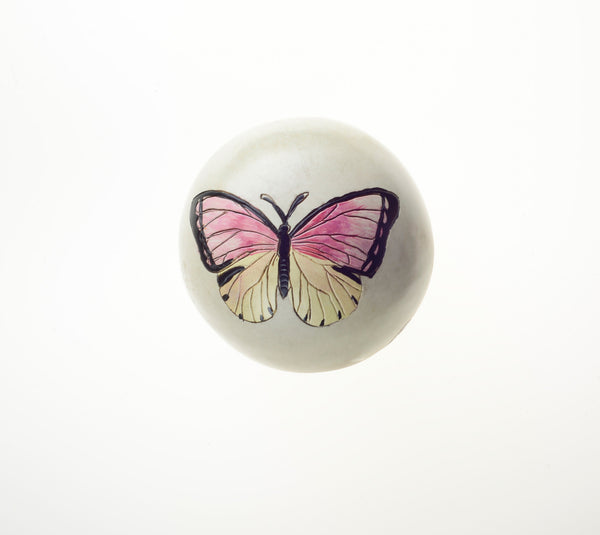 Wooden Butterfly Sphere