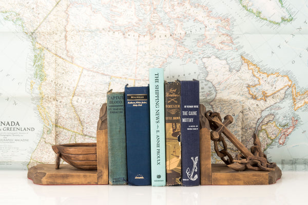 Desktop Set of Nautical Reads