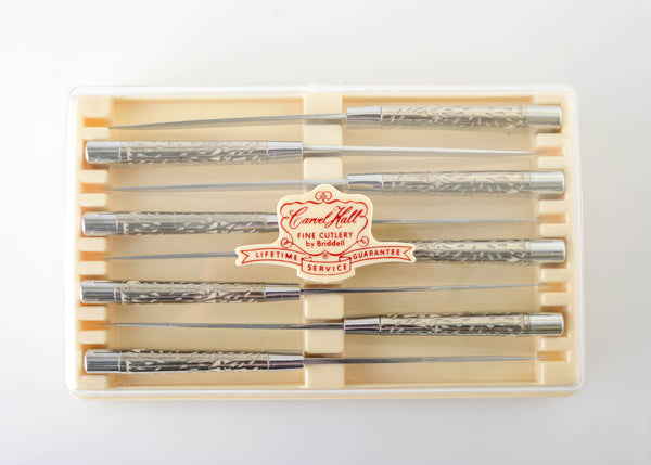 Beautiful MCM Steak Knives from Carvel Hall