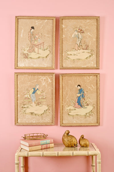 Chinoiserie Collage