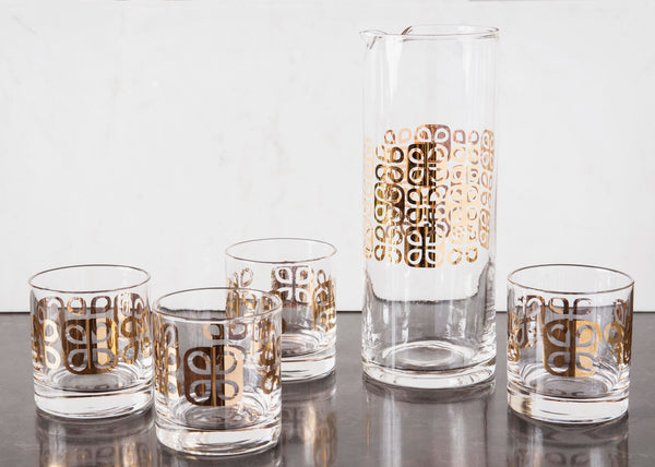 Set of Mod Atomic Barware