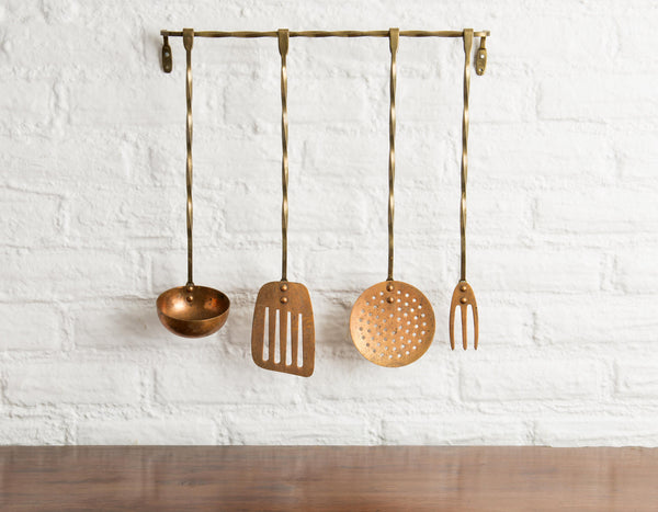 For Master Chefs or Copper Lovers: Stylish Set of Kitchen Utensils