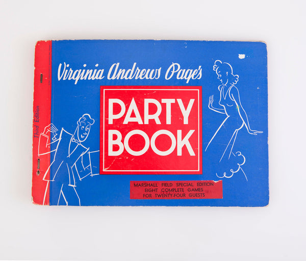 Vintage 1941 Marshall Field's Party Book by Virginia Andrews Page