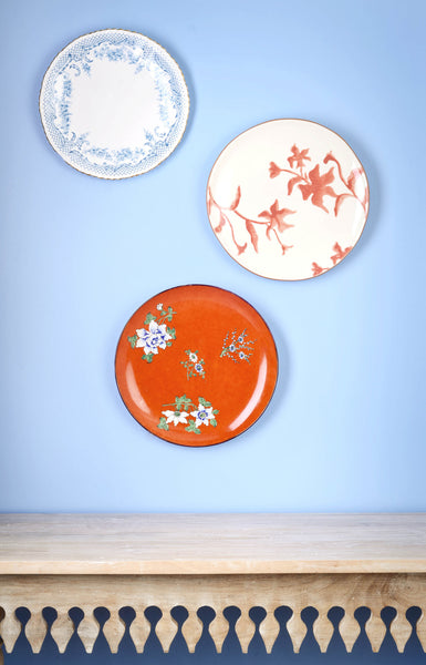 Trio of Pretty Chinoiserie Plates