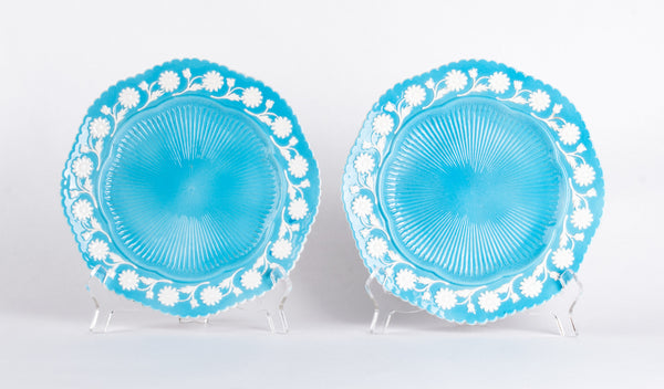 Mottahedeh Daisy Plates