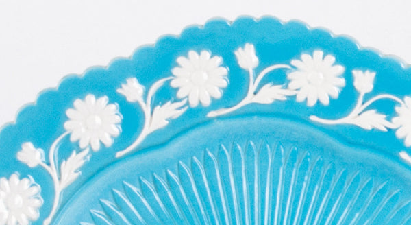 Detail Mottahedeh Daisy Plate