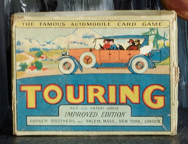 "The Famous Automobile Card Game ""Touring"""