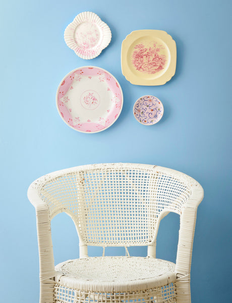 Pretty Pastel Plate Collage