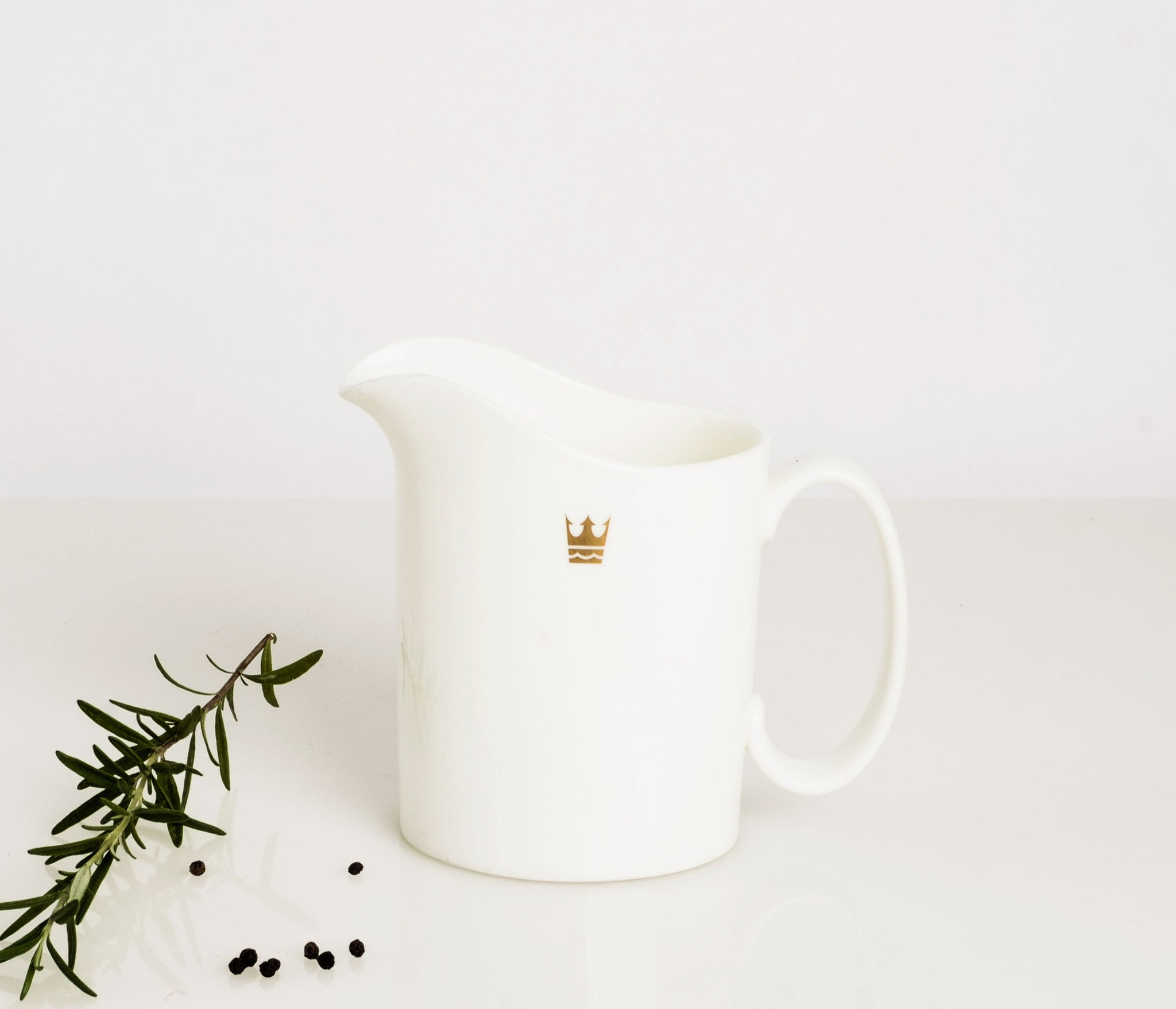 Royal Doulton Bone China Pitcher in Royal Cruise Line Pattern