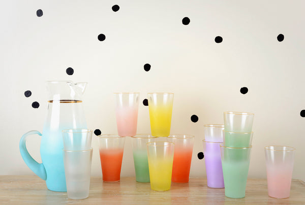 Blendo Vintage Ombre Pitchers & Highballs