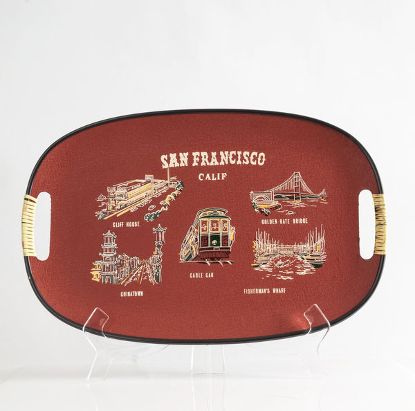 Souvenir San Francisco Serving Tray