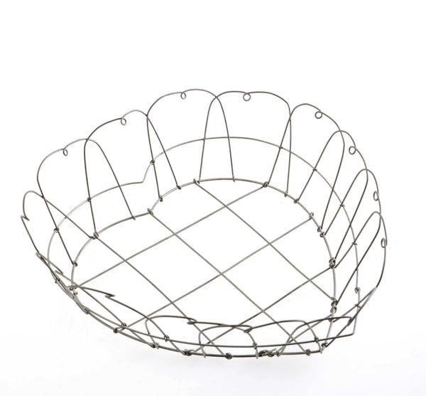 Wire Heart Basket