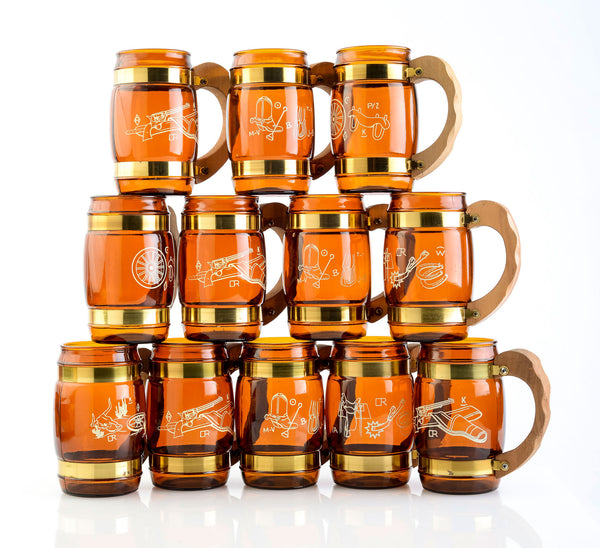Siesta Ware Western Mugs Set of 12