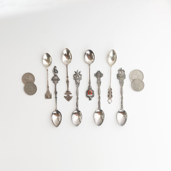 Middle East Souvenir Spoon Collection