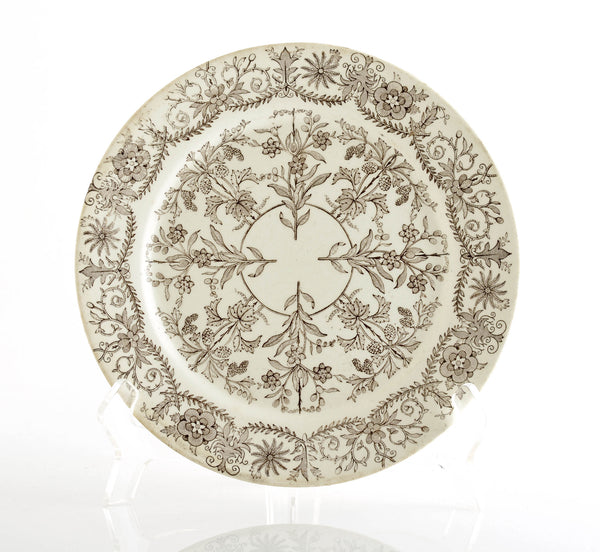 T&R Boote Ironstone Plate, Lahore Pattern