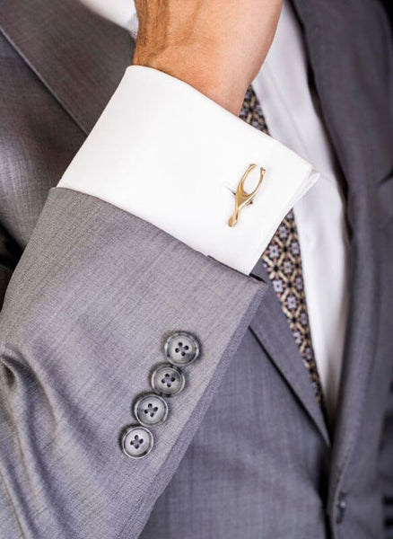 Lucky Wishbone Cufflinks