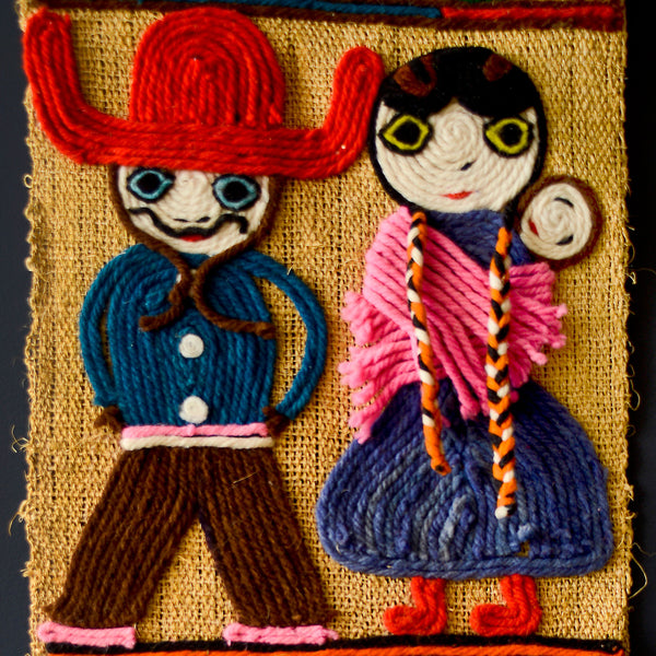 Folk Art Close-up