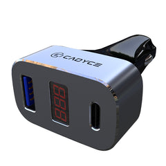 CA-CUCC 33W USB + USB-C™ Car Charger With Display