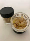 Frankincense resin with resealable jar