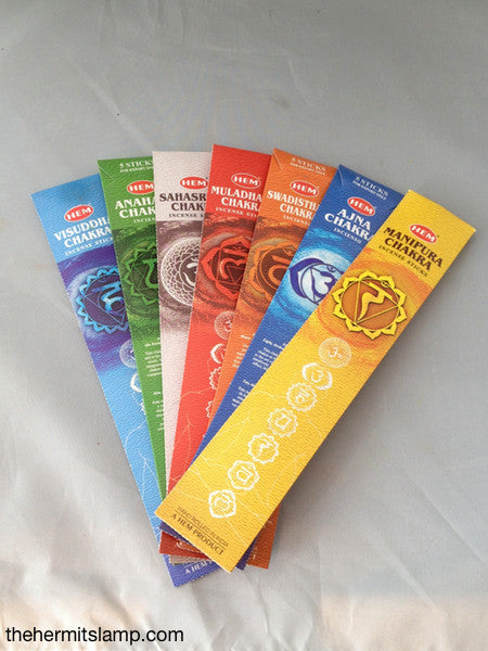 Seven Chakras Incense Sticks