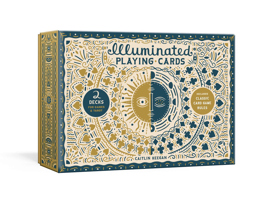 Illuminated Playing Cards: Two Decks for Games and Tarot