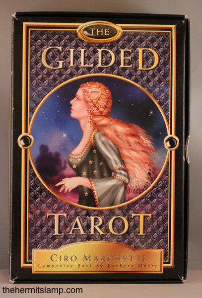 Gilded Tarot (Deck and Book Set)