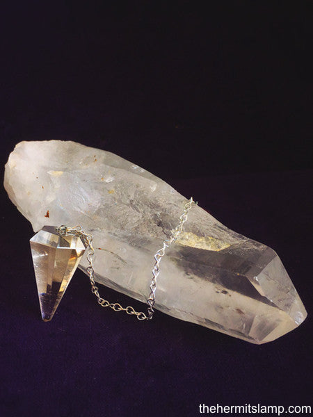 Smoky Quartz Pendulum