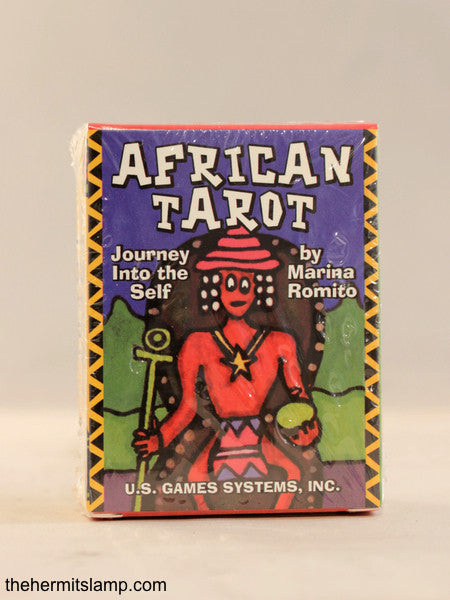 African Tarot: Journey Into The Self - Marina Romito