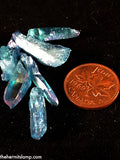 Aqua Aura Quartz Points