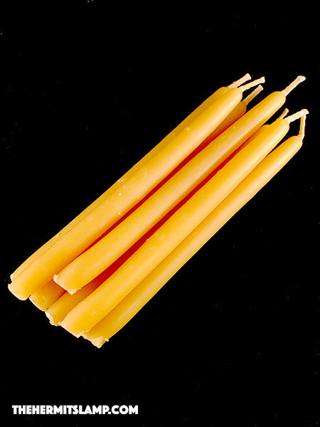 Small Beeswax Tapers