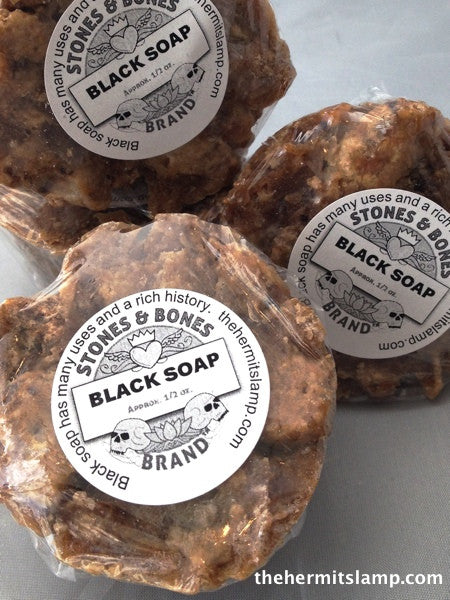 Authentic African Black Soap, from Ghana