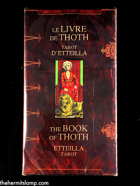 The Book of Thoth Etteilla Tarot.